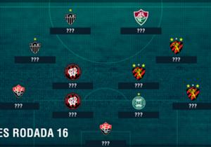 O Sport teve más atuações contra o Palmeiras e domina a seleção de piores da 16ª rodada. Mas Vitória, Atlético-MG e Atlético-PR também tiveram mais de um destaque negativo. Veja como ficou o time