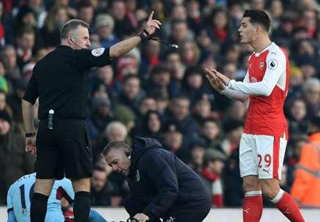 Henry slams Xhaka over red card