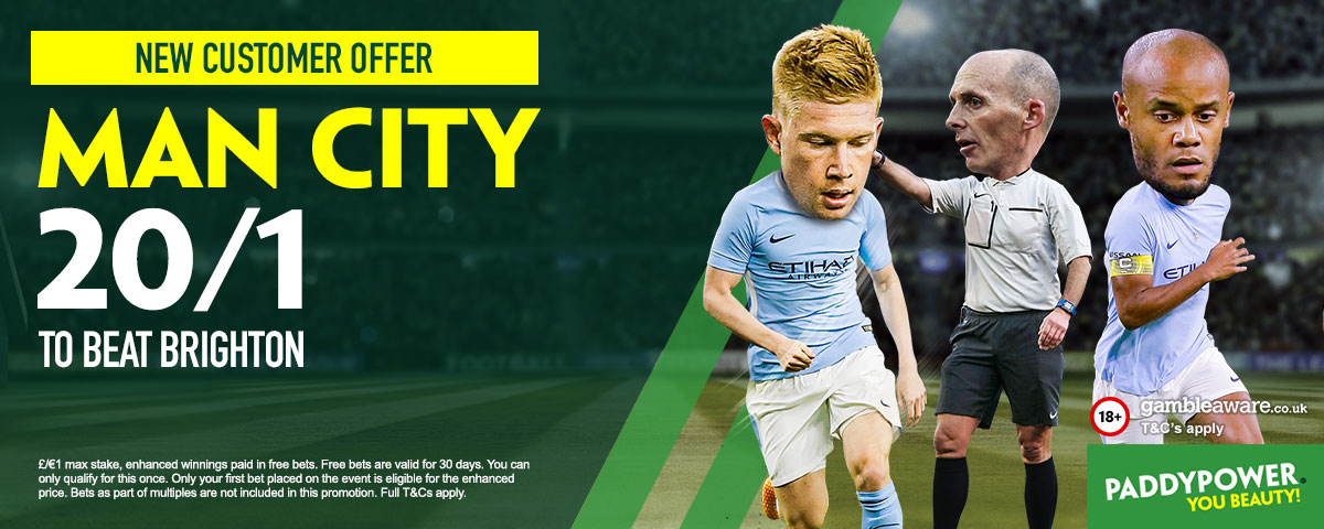 GFX Man City enhanced betting