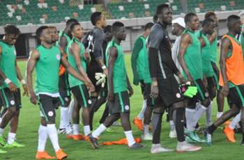 GALLERY: Nigeria complete training ahead of Atletico Madrid friendly