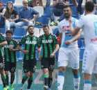 Napoli in slotfase naast Sassuolo