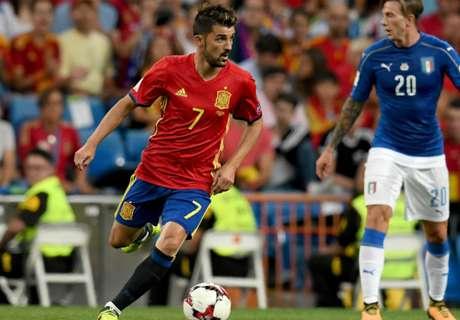 David Villa Absen Bela Spanyol Di Laga Kontra Liechtenstein