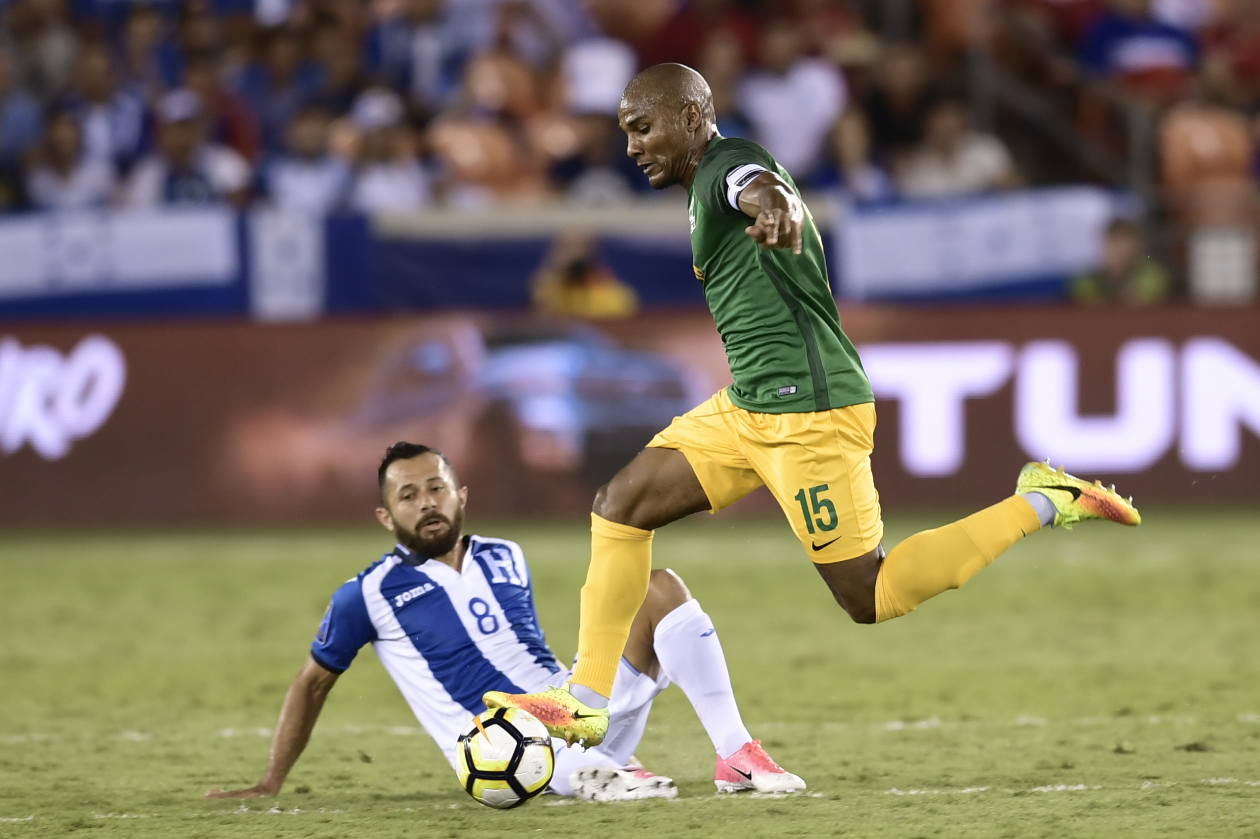 Ineligible Malouda play soccer for French Guiana in Gold Cup
