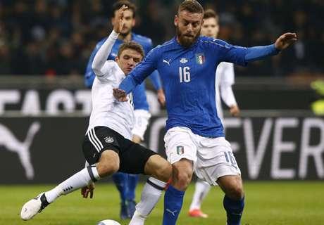 Alemania empató con Italia