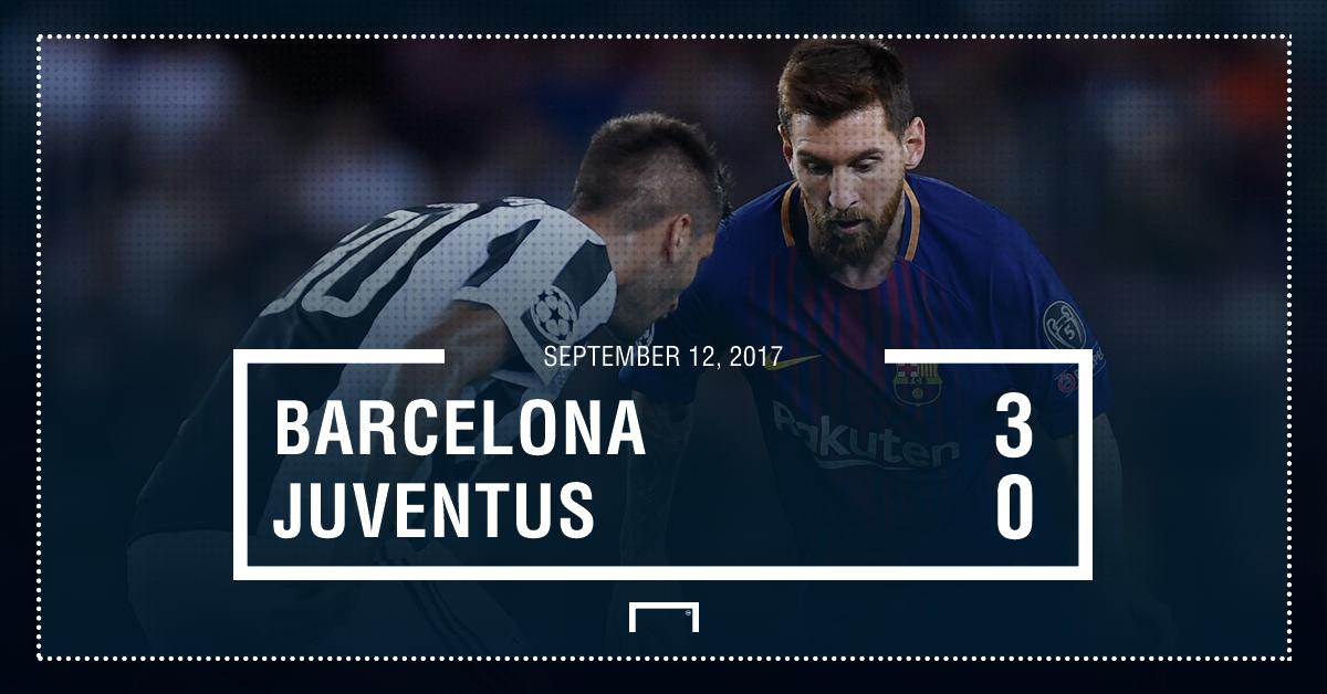 Barca Juve score