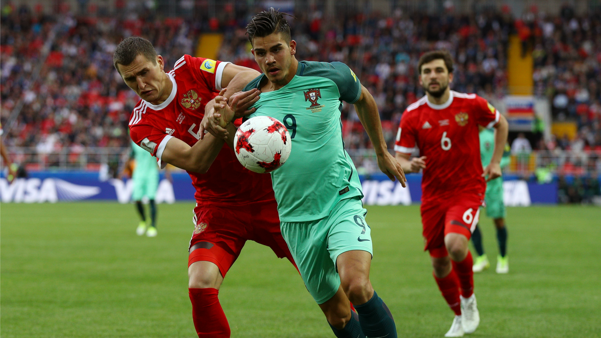 Confederations Cup 2017 - Il Messico non molla mai: Portogallo raggiunto nel finale