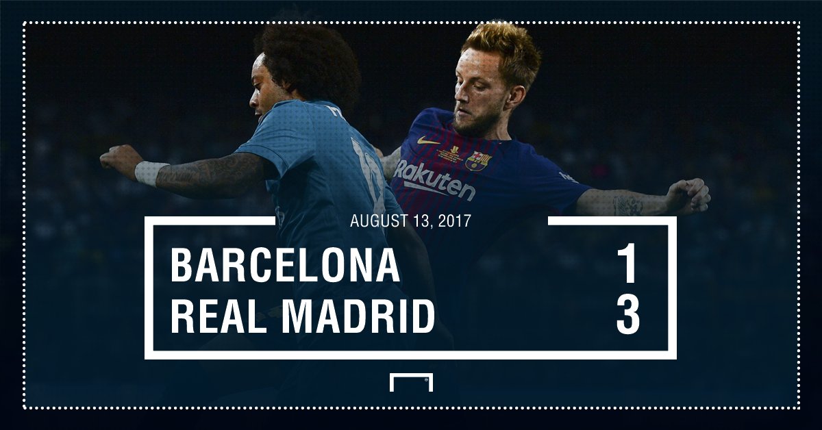 Barcelona Madrid result