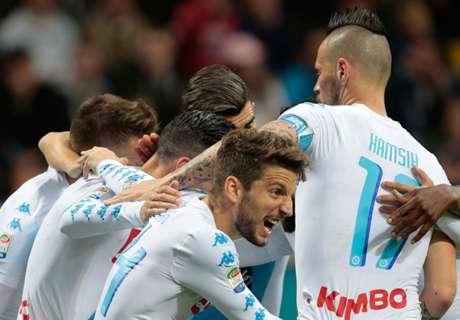 Serie A: Inter unterliegt Napoli