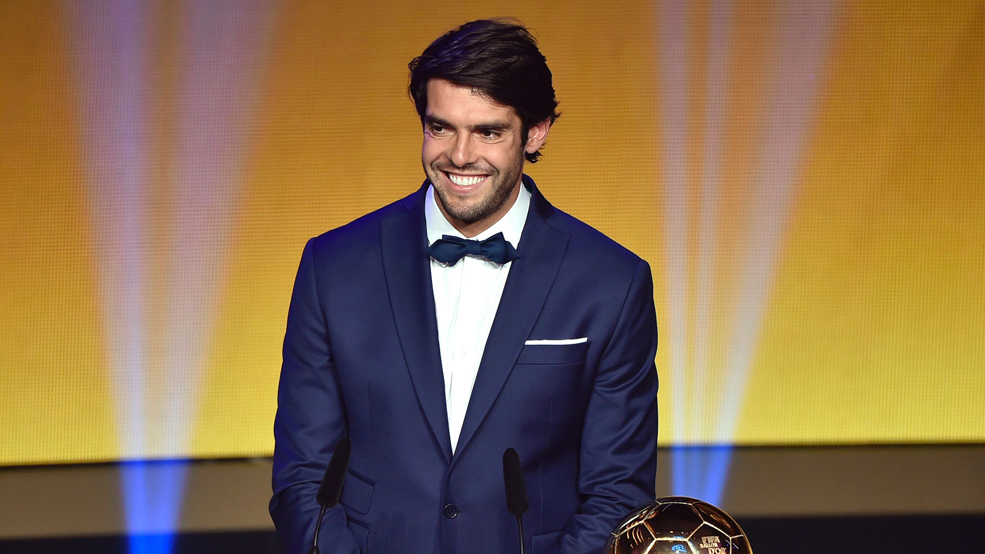 Ex Real Madrid star Kaka My favourite young player is Barcelona