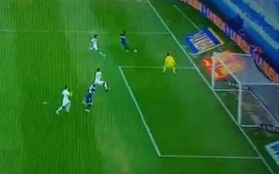 VIDEO: Jugadón de Fabra y definición de Benedetto para la ventanja de Boca ante Vélez
