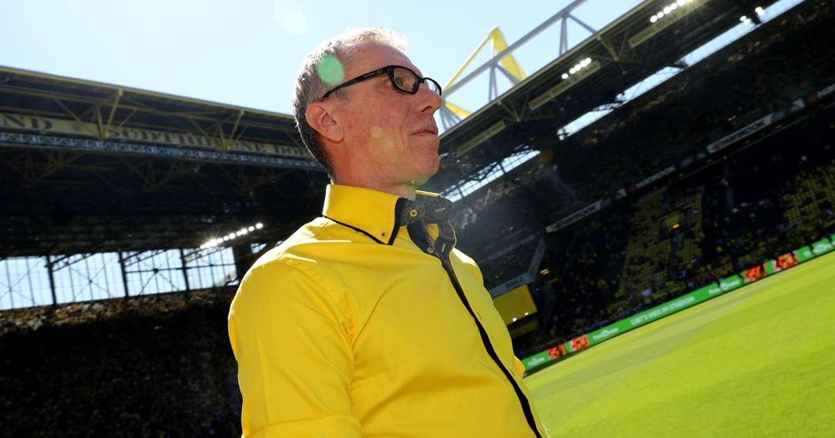 Borussia Dortmund Peter Stoger Wertet Matthias Sammers Rolle Als Berater Als Zeichen Der Starke Der Bvb Fuhrungsleute