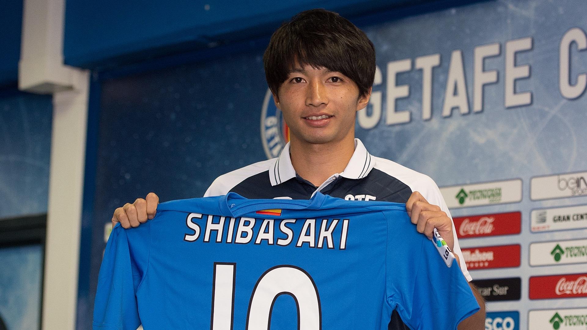 2017-07-25 Shibasaki Gaku getafe