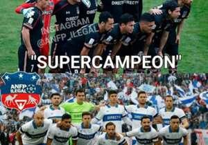 El conjunto de Pablo Guede se coronó campeón con un inapelable 4-1 en el Estadio Nacional y en las redes sociales festinaron con el resultado.