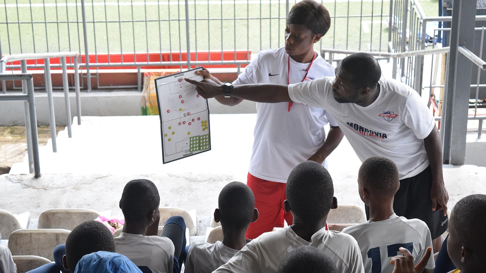 Monrovia football Academy, Football class