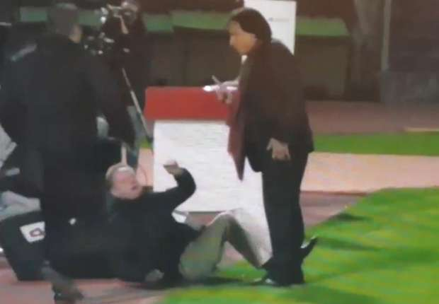Christian Constantin udarao je bivšeg trenera Stuttgarta i izbornika Švicarske i na podu
