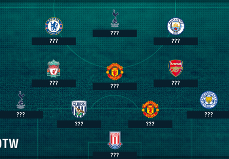 Pogba & Kane star in PL Best XI