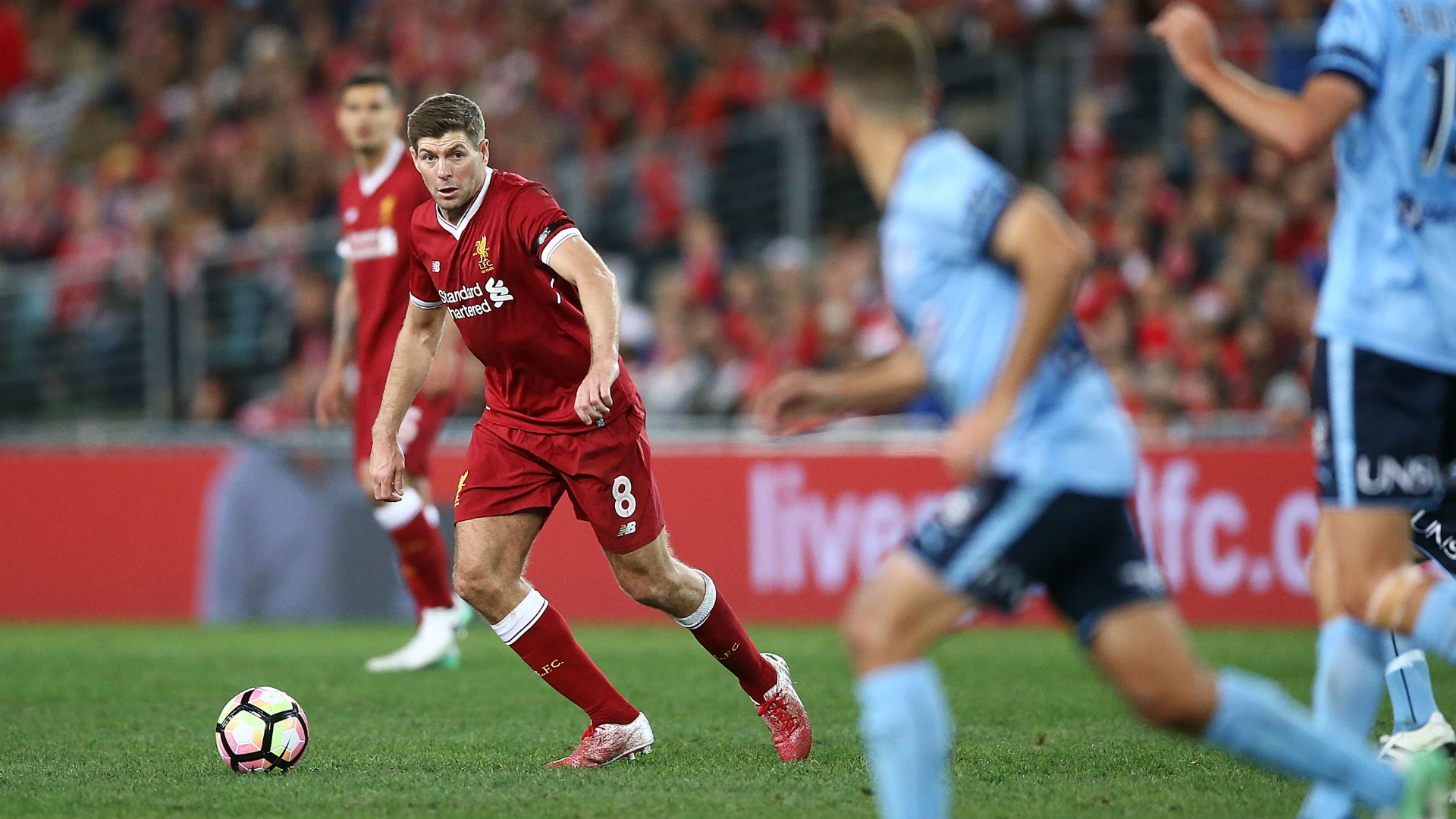 Steven Gerrard Sydney FC v Liverpool Friendly 24052017