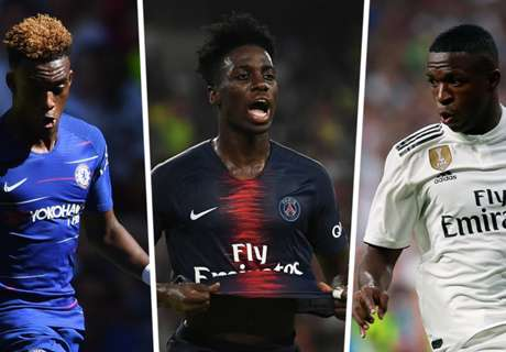 Vinicius, Weah & Europe's young stars to watch