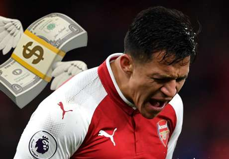 Transfer latest: Alexis rejects £21m salary offer