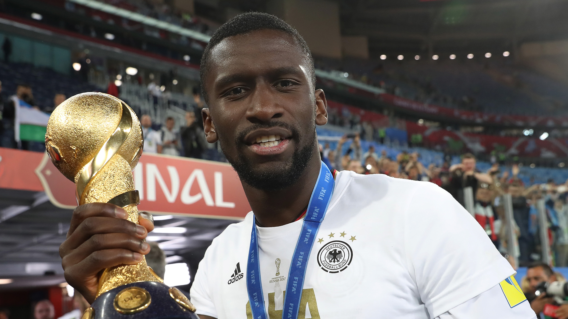 Antonio Rudiger Germany Confederations Cup