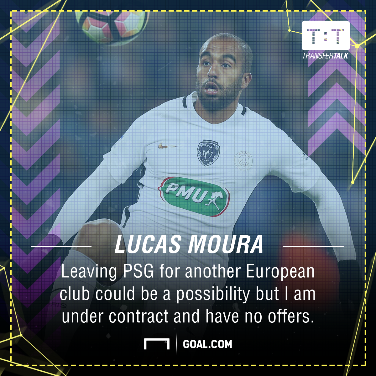 PSG Winger Lucas Moura Opens Transfer Door To Man Utd And