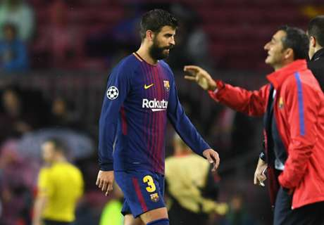 Pique's clumsy red spoils Deulofeu's big night
