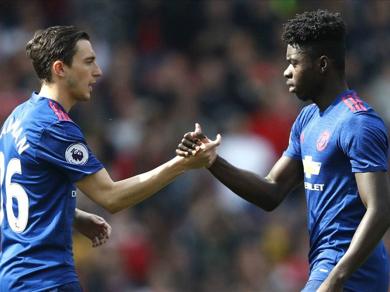 Darmian and Tuanzebe