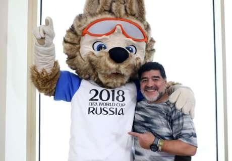 El nuevo amigo de Maradona