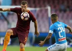 <strong>NAPOLI</strong><br>Fecha FIFA: 3 de septiembre | Palermo 0-3 Napoli<br>Fecha FIFA: 8 de octubre | Napoli 1-3 Roma<br>Fecha FIFA: 12 de noviembre | Udinese 1-2 Napoli