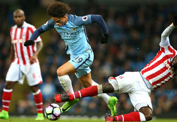 Manchester City 0-0 Stoke City: Sane misses sitters as hosts remain third