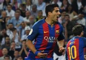 Muchos jugadores del Barcelona no salían de su asombro y se volvieron completamente locos cuando Lionel Messi marcó el gol de la victoria en el Clásico ante el Real Madrid en el minuto 92.