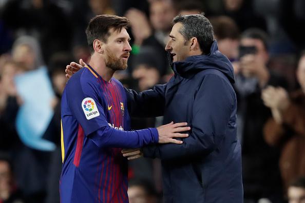 """Barcelone - Lionel Messi défend Ernesto Valverde : """"J'aimerais qu'il reste sur le banc la saison prochaine"""""""