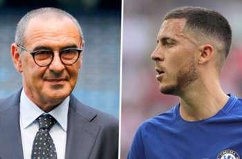 New Chelsea boss Sarri plays down Hazard to Real Madrid transfer links