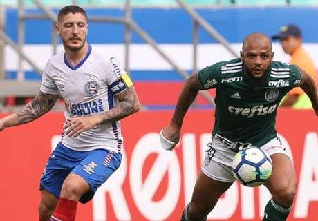 Palmeiras llega peleándolo todo