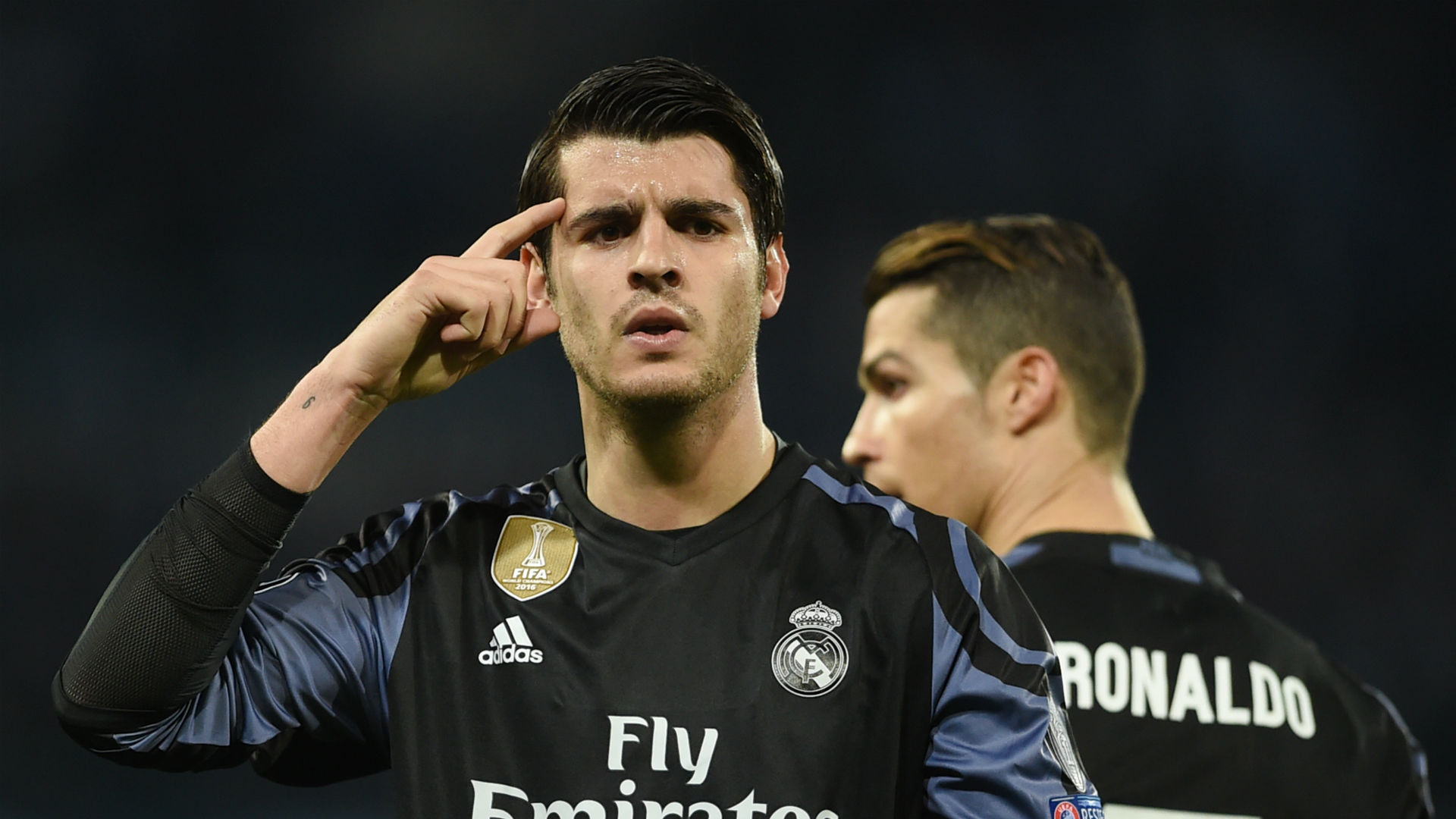 Alvaro Morata Real Madrid