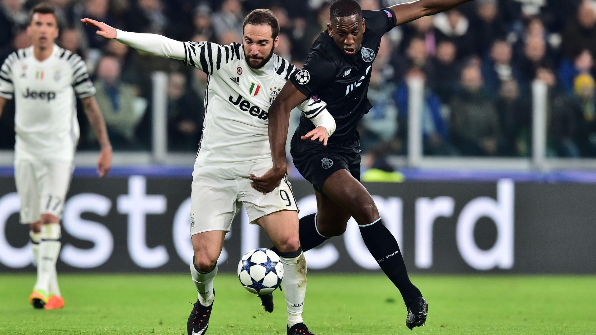 Gonzalo Higuain Juventus Porto Champions League