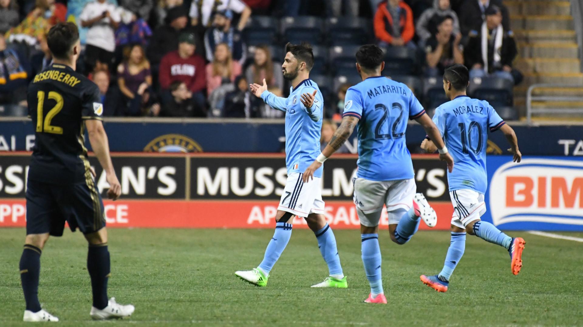 David Villa New York City FC