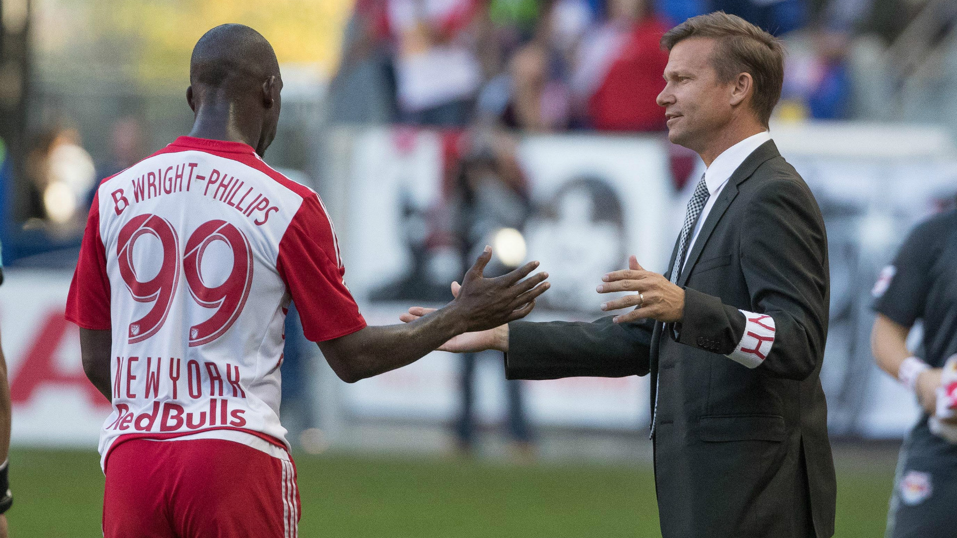 Bradley Wright-Phillips Jesse Marsch MLS Red Bulls 10162016