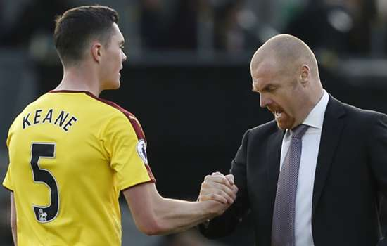 Keane will only be sold if it suits Burnley – Dyche