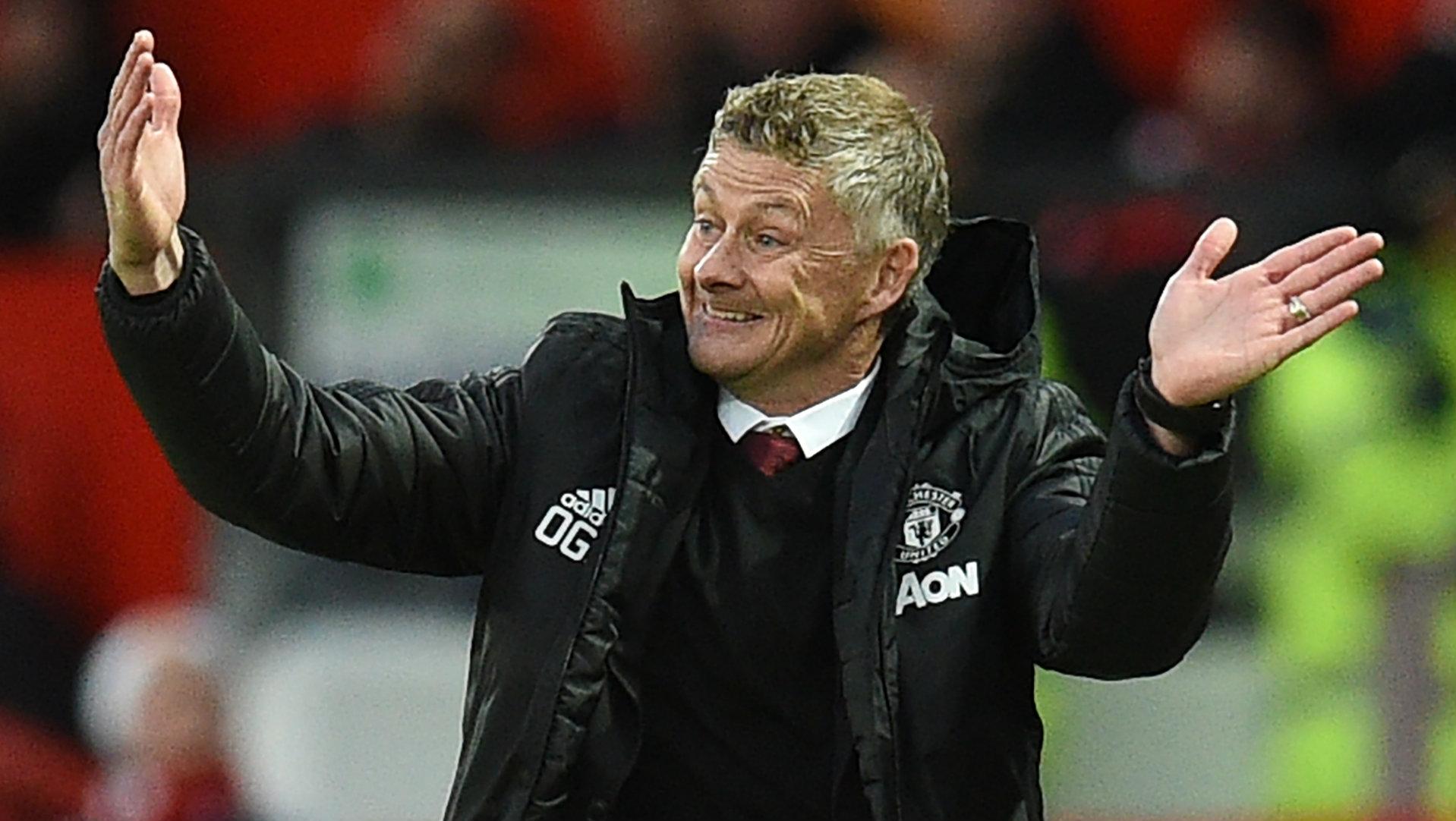 Manchester United, Solskjaer fier de ses joueurs