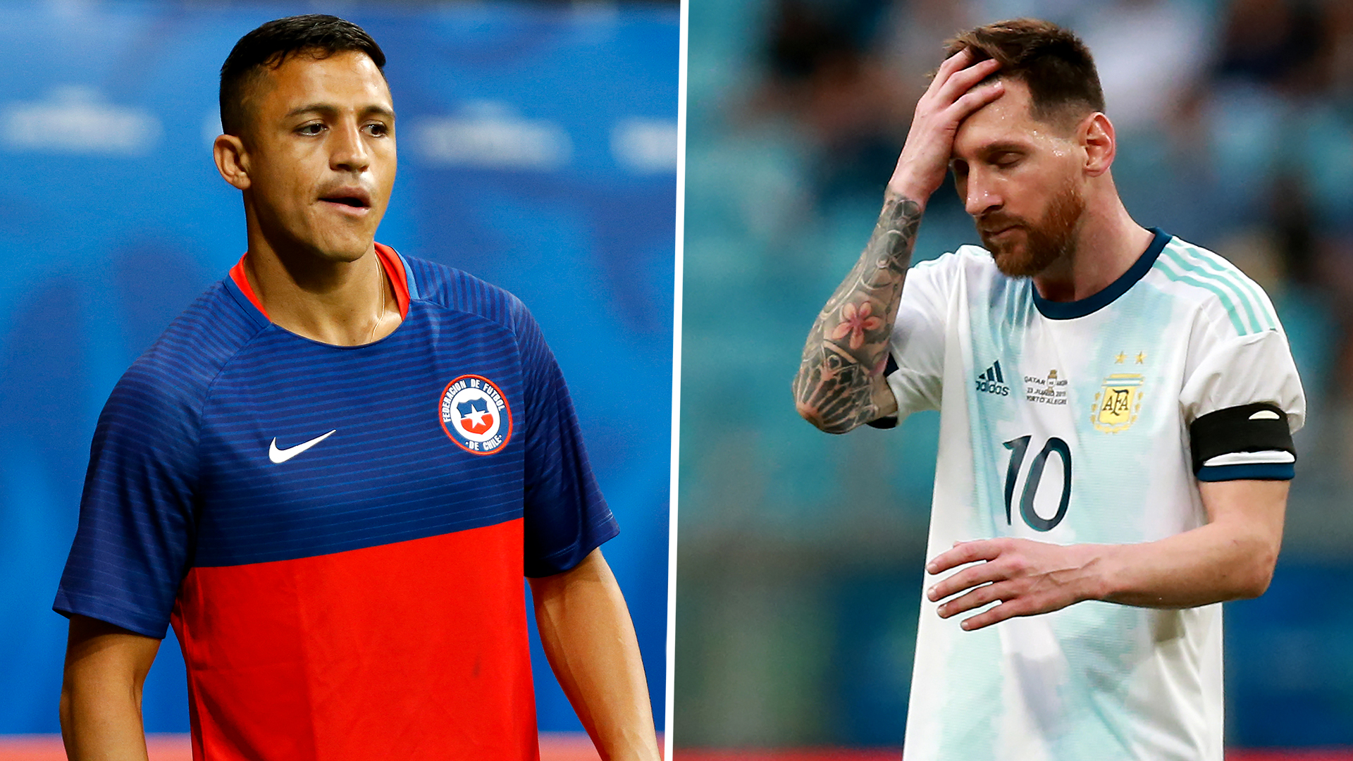 Alexis Sanchez in, Lionel Messi out: The team of the Copa America group stage