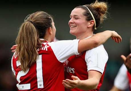 Arsenal Women stun Sunderland