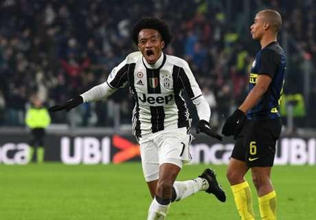 Cuadrado premia a la Juventus