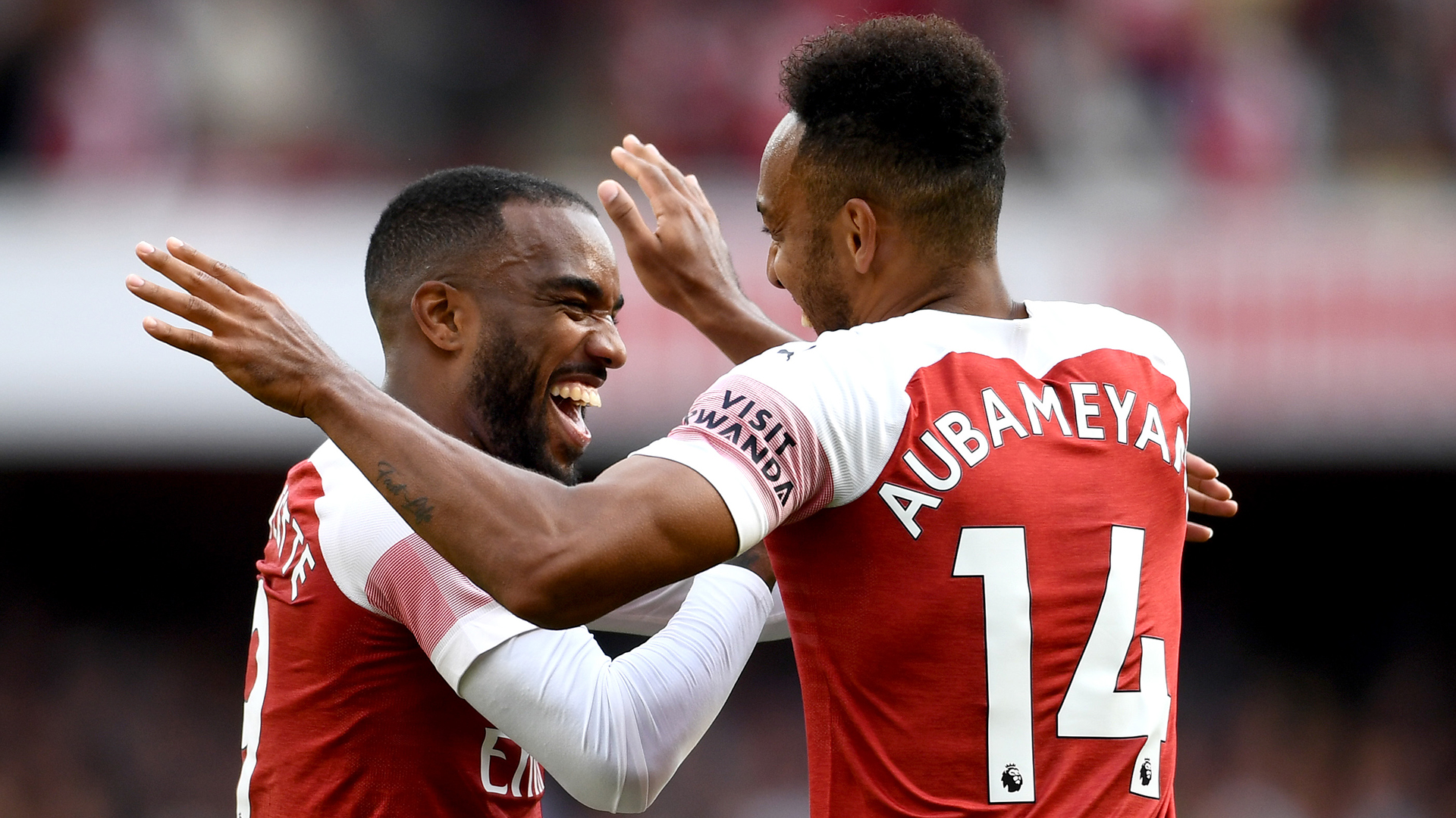 Premier League - Arsenal s'impose grâce à Lacazette et Aubameyang