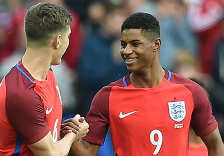 Hodgson 'pleased' for Rashford