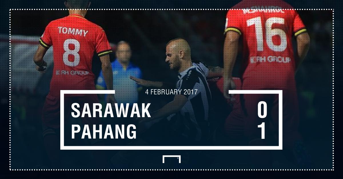Result Sarawak Pahang Super League 2017