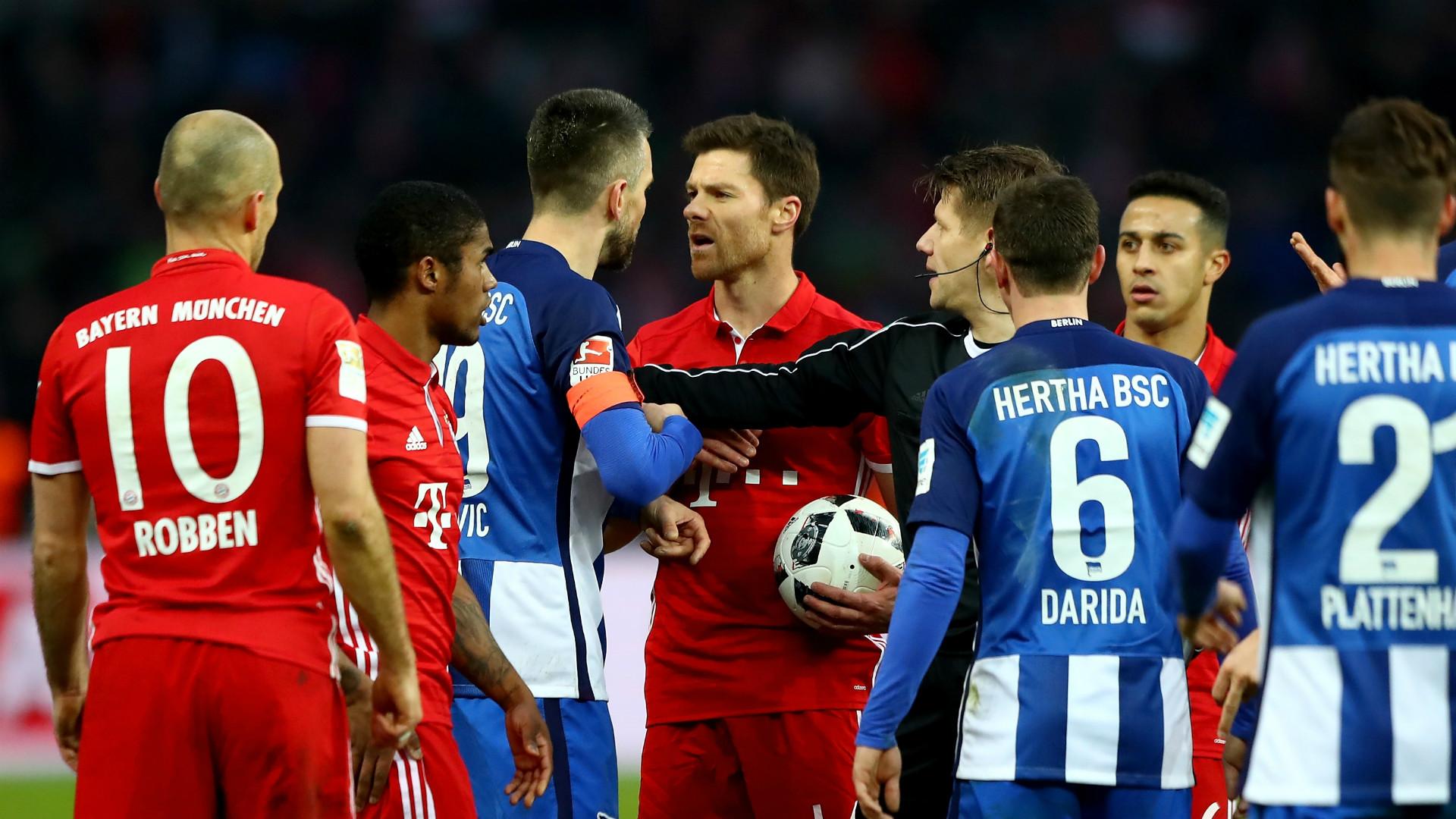 HD Bayern Hertha melee