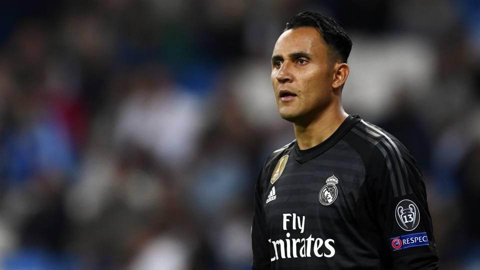 Keylor Navas Real Madrid Champions League 2018