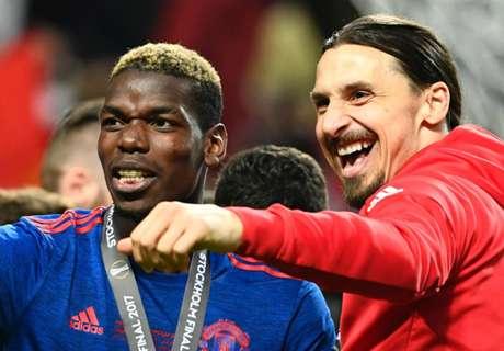 Pogba et Ibrahimovic de retour dans le groupe de Manchester United