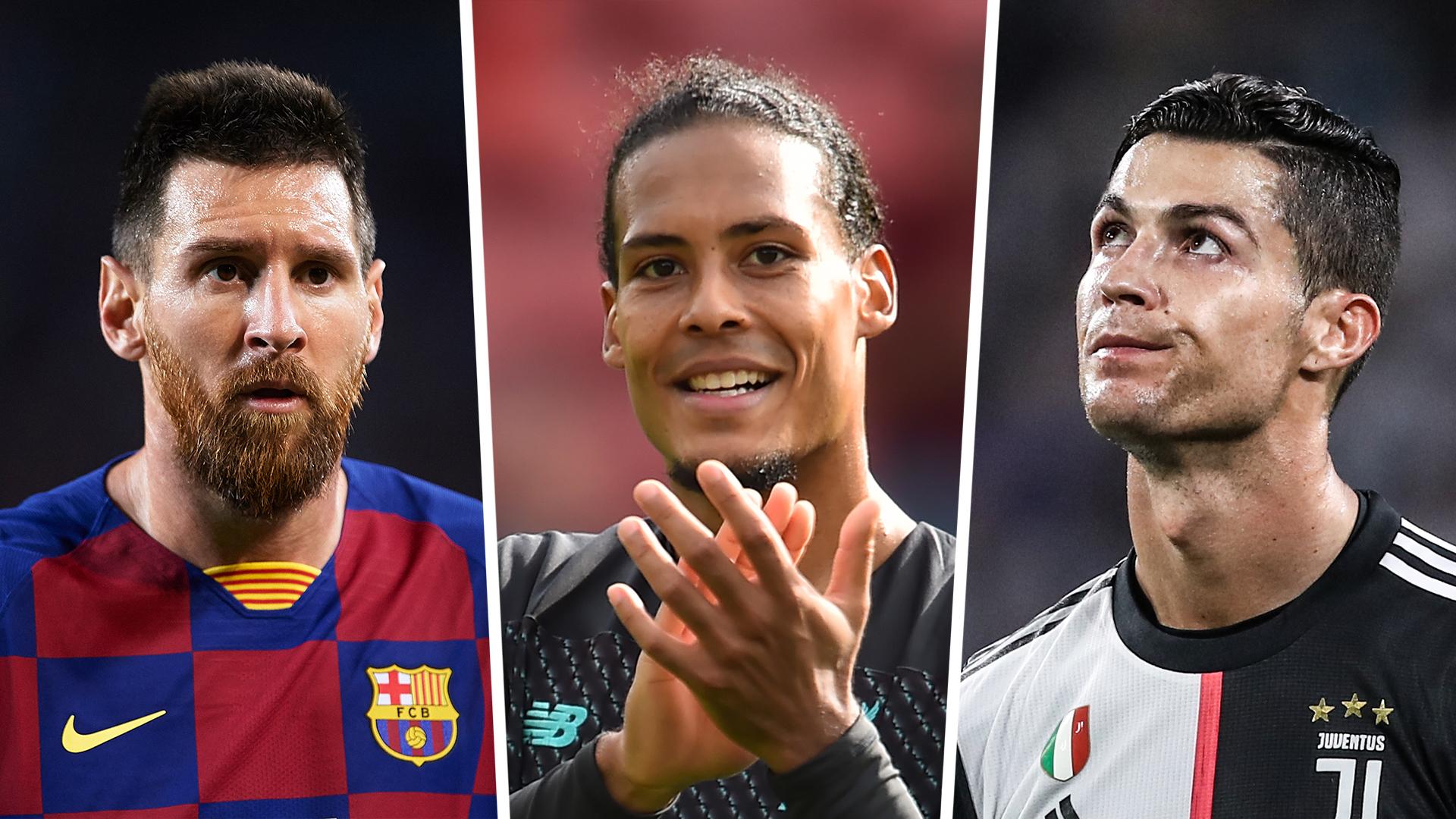 Ballon d'Or 2019: Messi, Ronaldo & Van Dijk head up list of 30 nominees